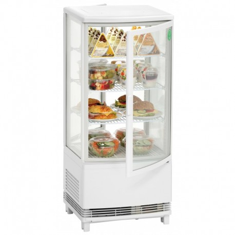 Two-door refrigerated panoramic showcase 700678G Bartscher
