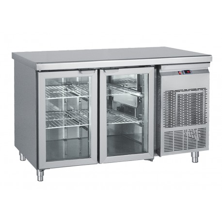 Refrigerator Bench Maintenance With 2 GN Doors