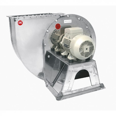 900 RPM / 0,5HP Stainless Steel Single Inlet Centrifugal Fans