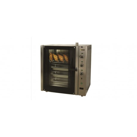 Electric convection oven with steamer F72