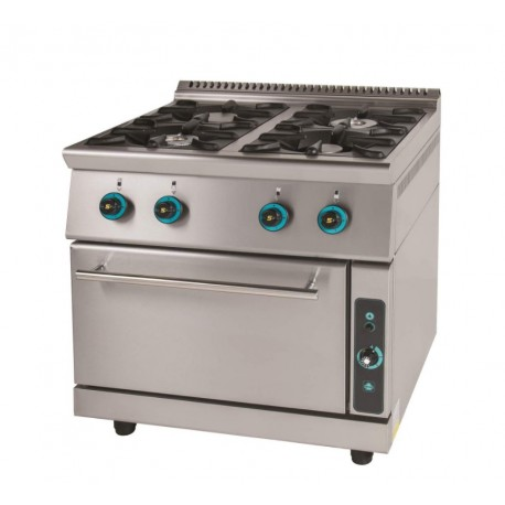 Gas cooker 4 ranges with oven FC4FS7-LINE 750