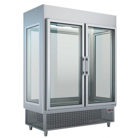 Upright Refrigerated Display With 2 Doors