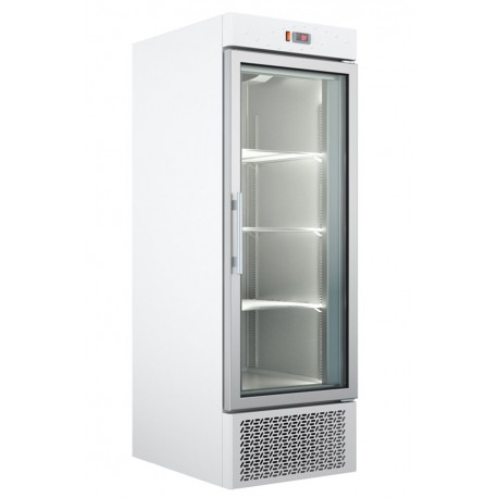 Under Mounted White Color Refrigerated Cabinet With 1 Glass Door UΡ 69