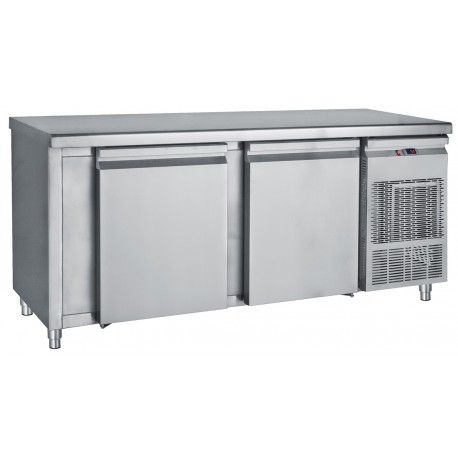Refrigerator Counter Freezer with 2 Large Doors PΜK  185