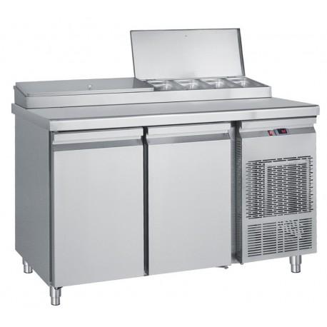 Refrigerator salad with two doors / PIM 155