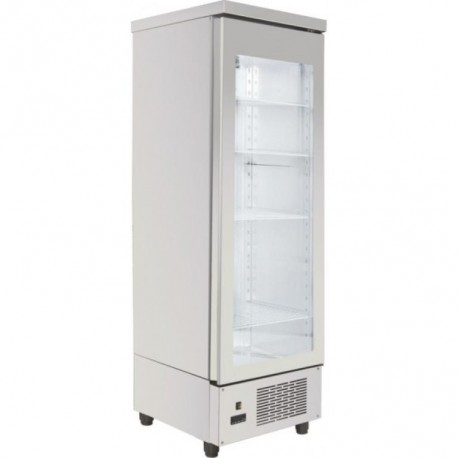 Refrigerated Freezer  Cabinet with compressor and one  Glass-Door.