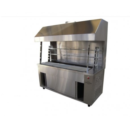 Floor Coal Roasting Machine with Hood 3-Α304-Μ12V