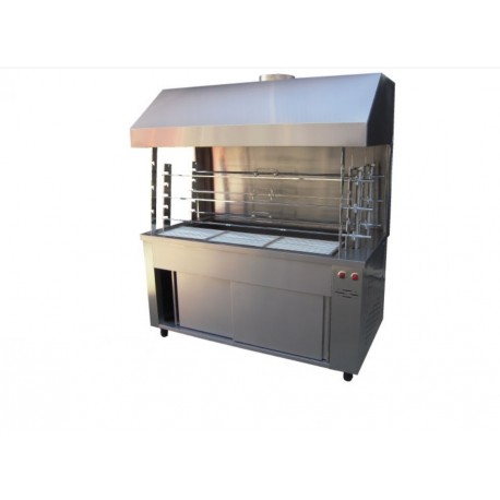 Floor Coal Roasting Machine with Hood 6-Α304-Μ12V-3Τ