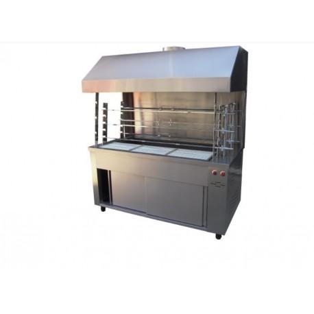 Floor Coal Roasting Machine with Hood 6-Α304-Μ 220V