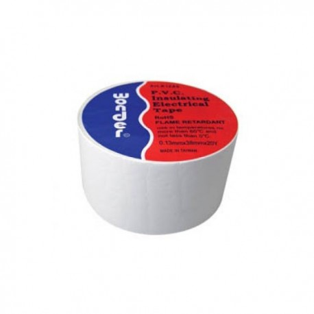 Insulating tape WONDER white 38x20 wide