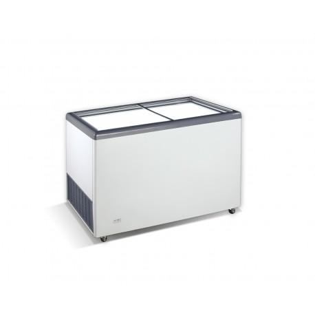 Horizontal display freezer with straight glass lidsEKTOR 46 SGL